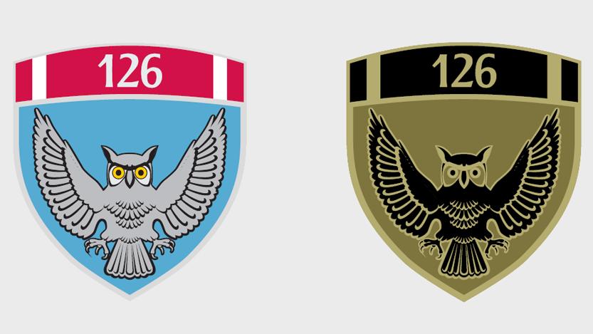 Amblem 126. brigade VOJIN