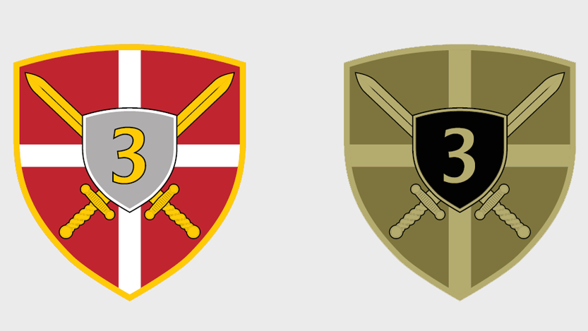 Амблем Треће бригаде Копнене војске