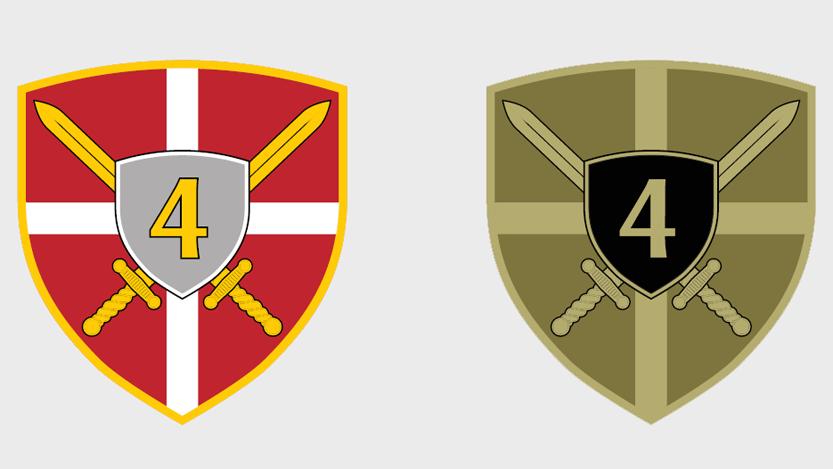Амблем Четврте бригаде Копнене војске