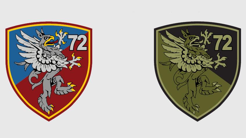 Амблем 72. извиђачко-диверзантског батаљона