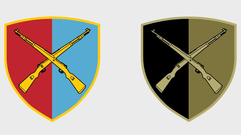 Амблем Центра за обуку Копнене војске