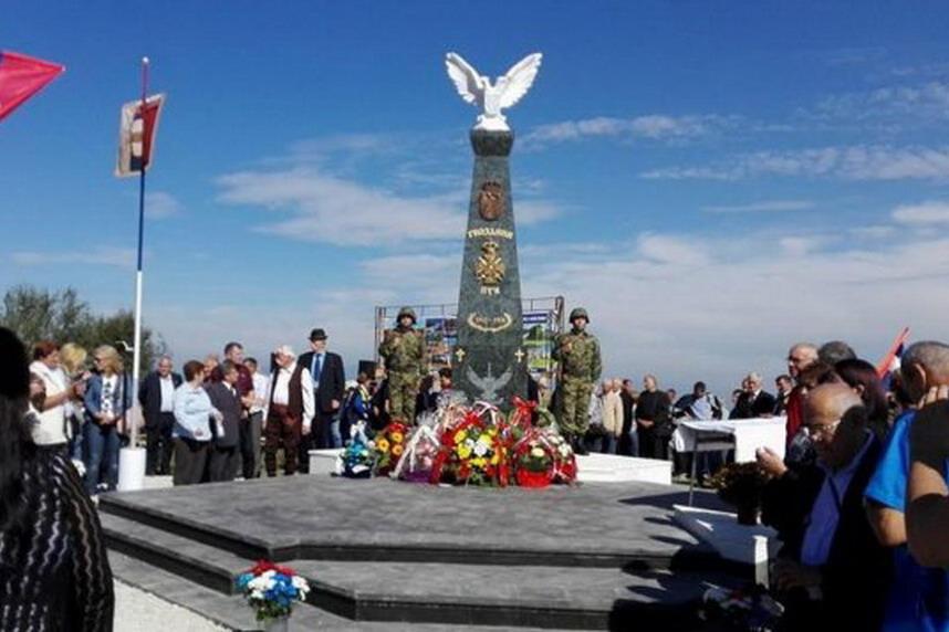 U Igristu Otkriven Spomenik Toplickom Gvozdenom Puku Vojska Srbije