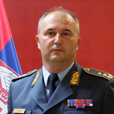 general-major Želimir Glišović