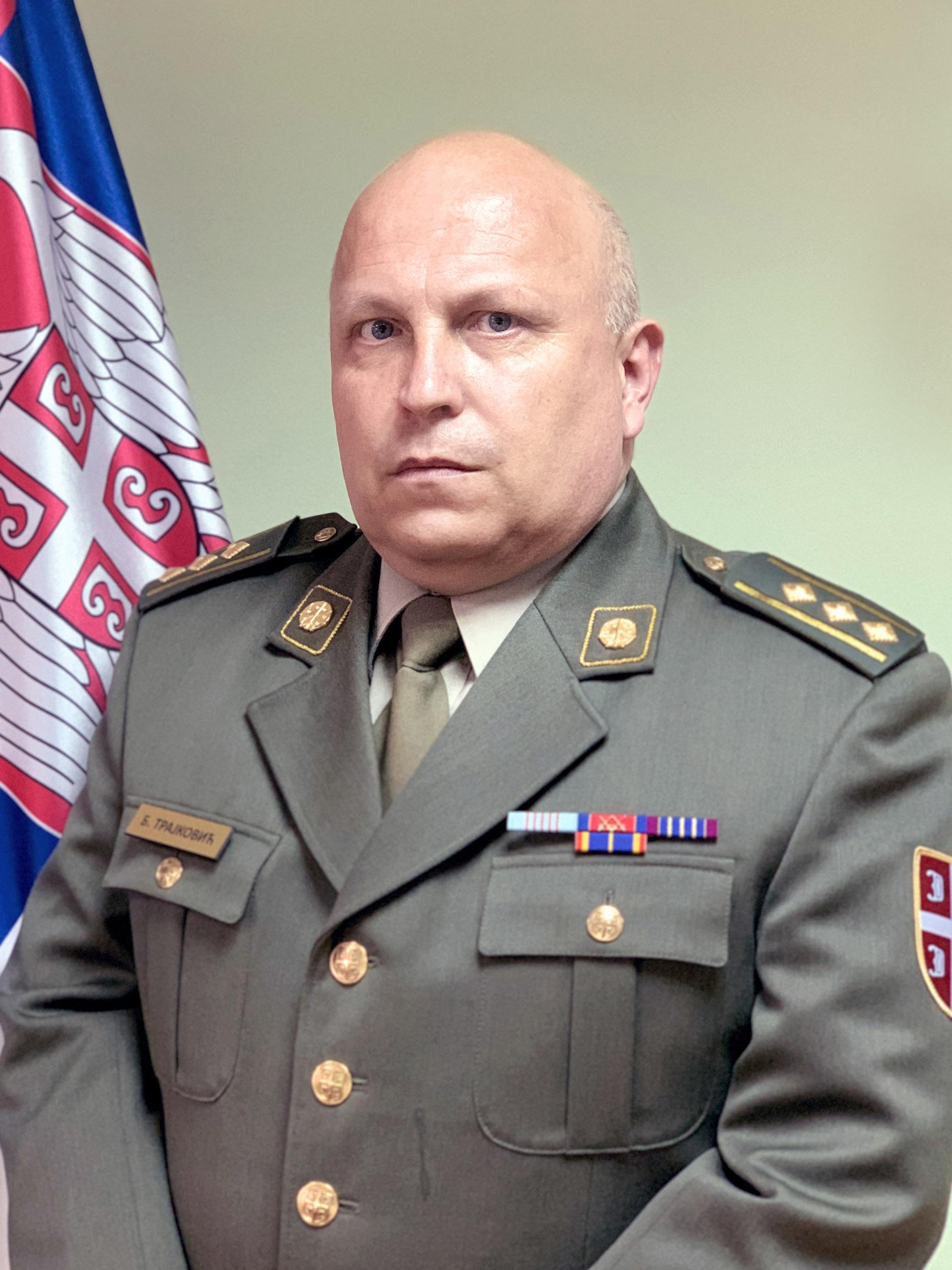 пуковник др Бобан Трајковић, дипл. инж.