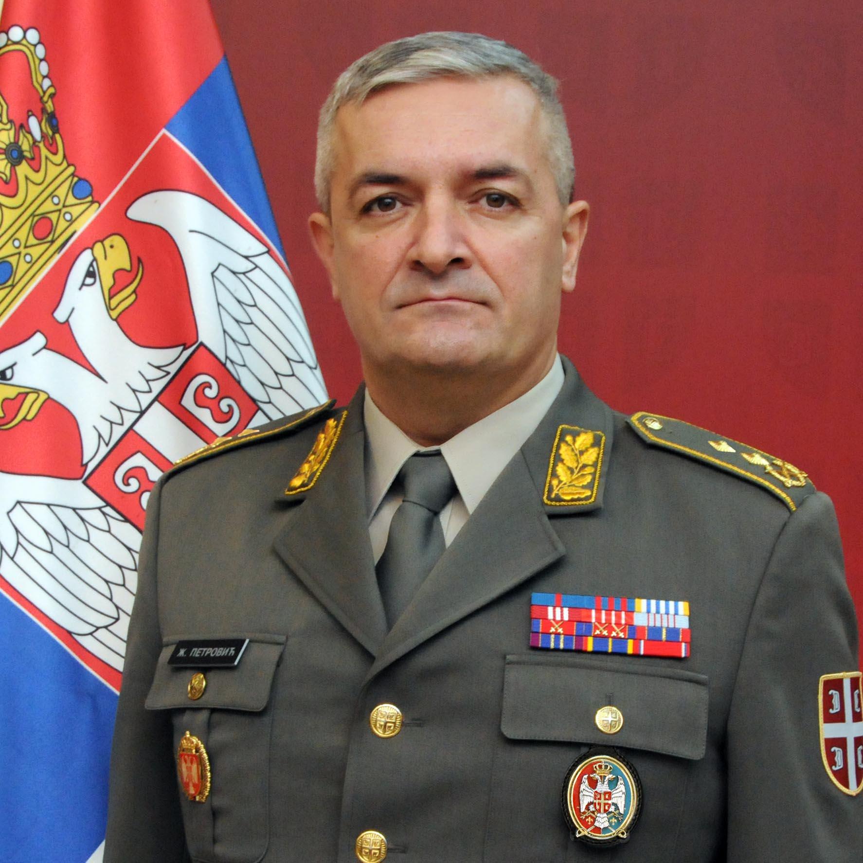бригадни генерал Жељко Петровић