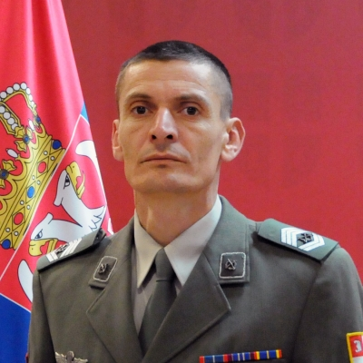 zastavnik prve klase Milisav Milosavljević
