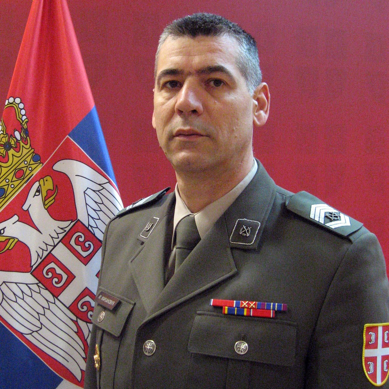 Sergeant Major Lazar Mažić