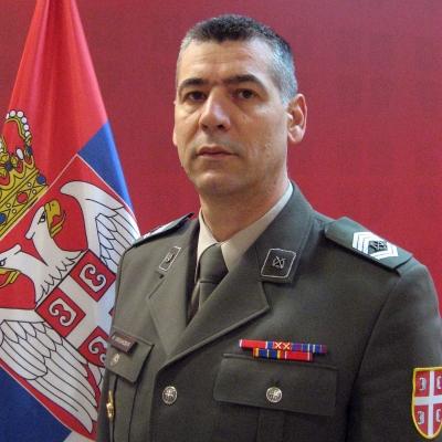 zastavnik prve klase Miroslav Marjanović