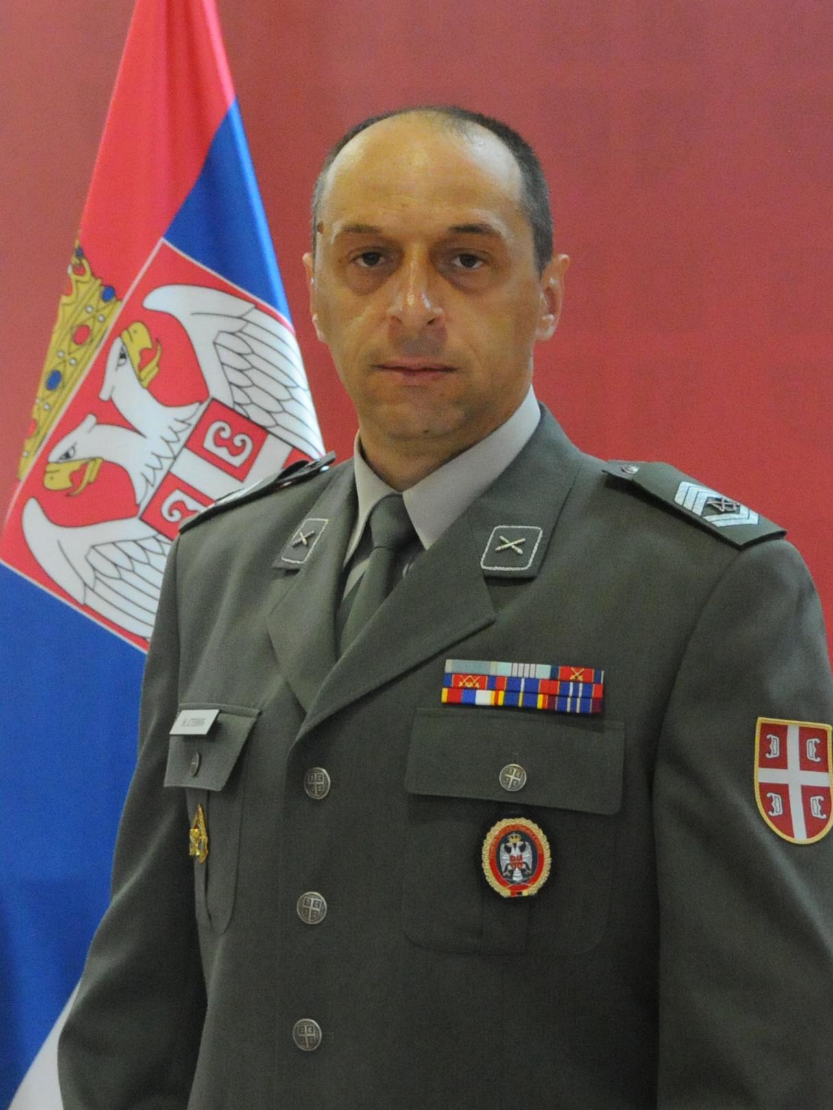 Sergeant Major Zoran Kocić