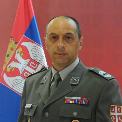 zastavnik prve klase Milojko Milosavljević