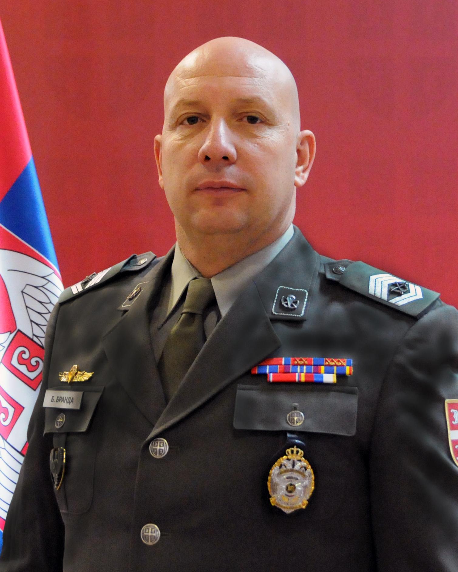 Colonel Milivoje Pajović