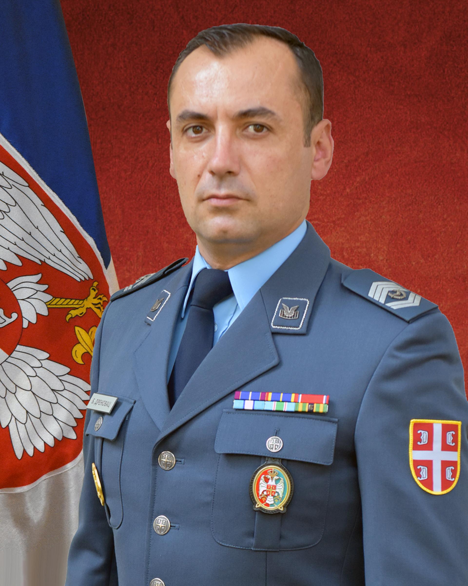 Sergeant Major Nenad Luković