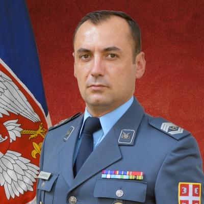 zastavnik prve klase Bratislav Drenovac