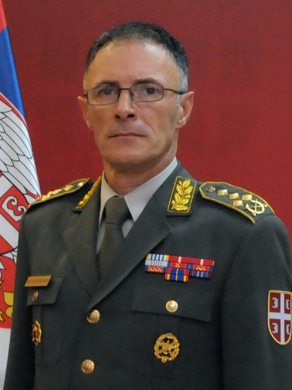 chief of general staff serbian armed forces lieutenant general