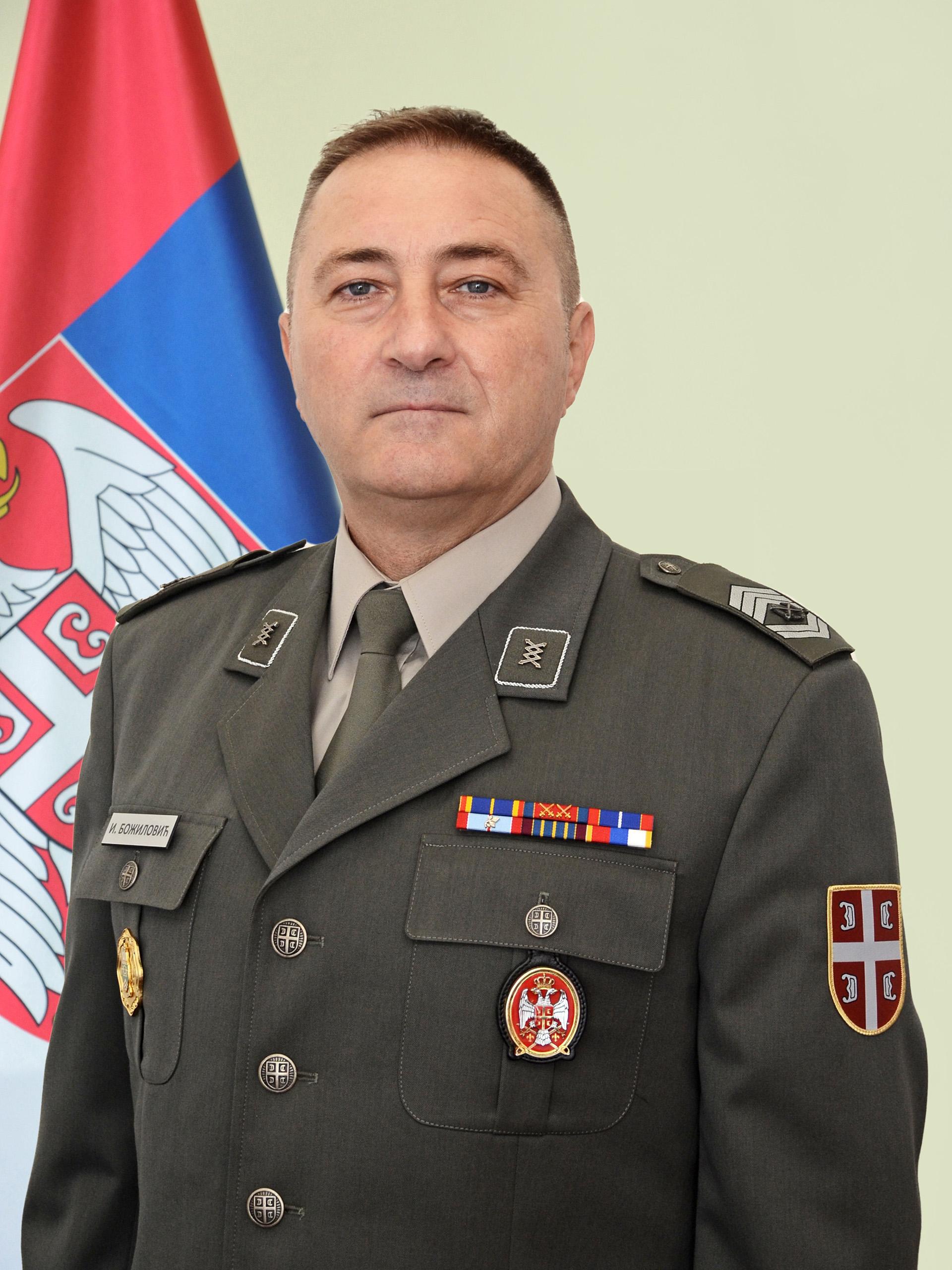 Sergeant Major Mladen Pupovac