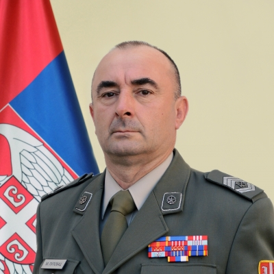 Sergeant Major Nenad Stević