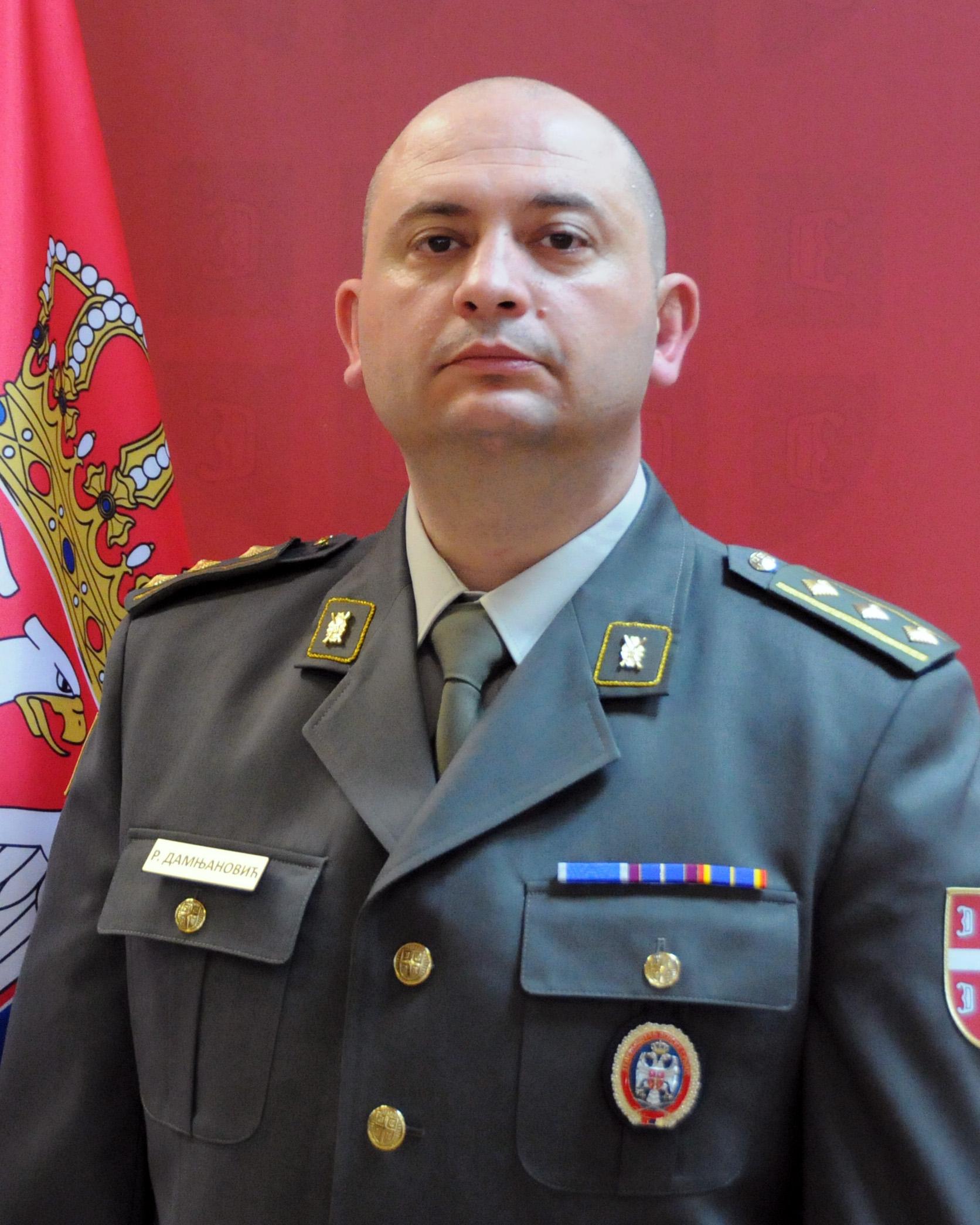 potpukovnik dr Radovan Damnjanović