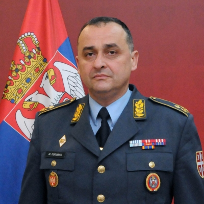 бригадни генерал Милан Поповић