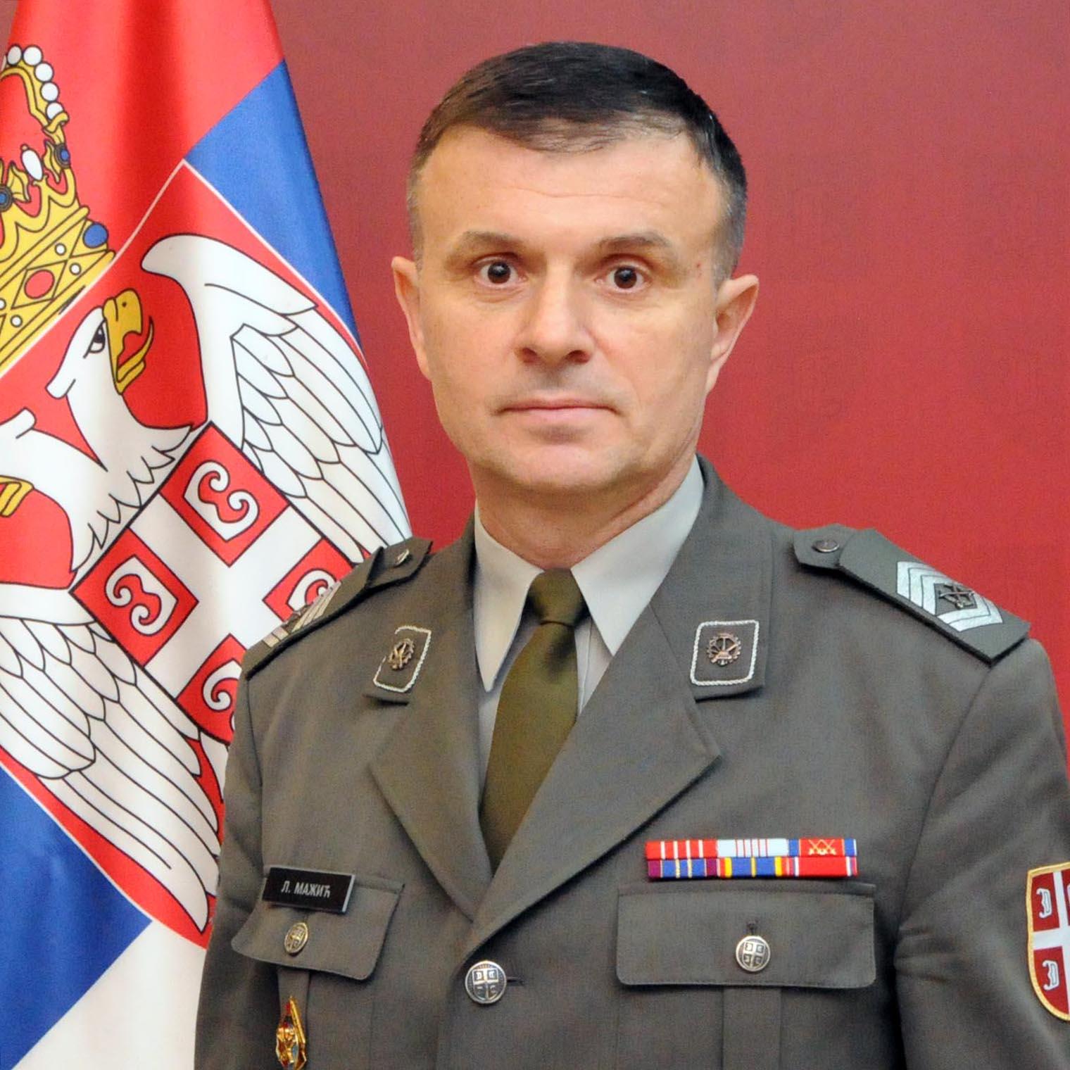 заставник прве класе Лазар Мажић