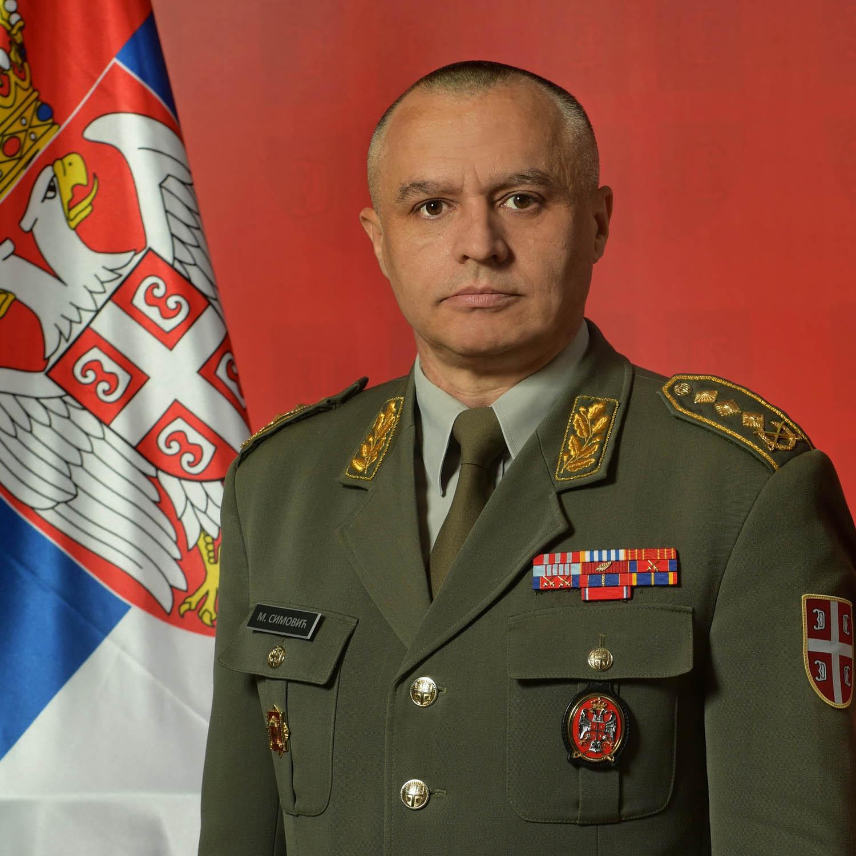 Lieutenant General Milosav Simović