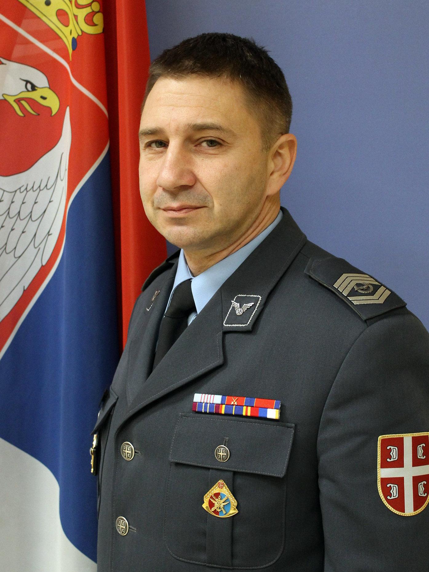 zastavnik prve klase Saša Sailović