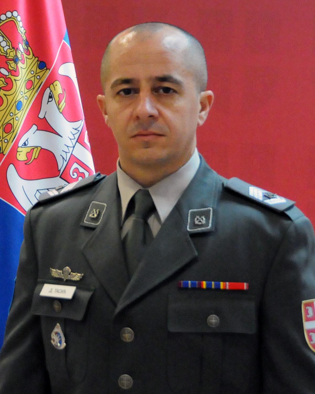 заставник прве класе Далибор Тасић