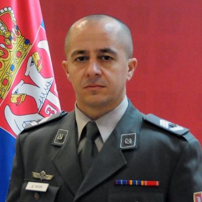 zastavnik prve klase Dalibor Tasić