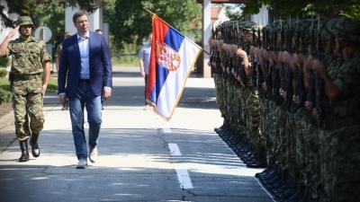 Premijer Vučić u poseti Specijalnoj brigadi