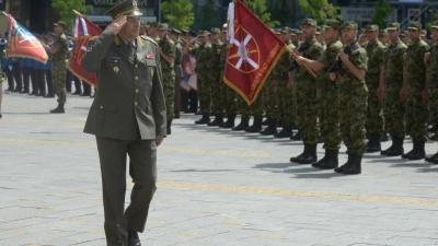 Generalna proba svečanosti povodom Dana Vojske Srbije i Dana pobede