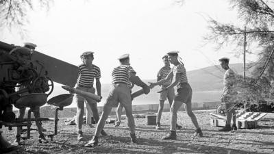 Obuka u pomorskom učilištu, 1949.