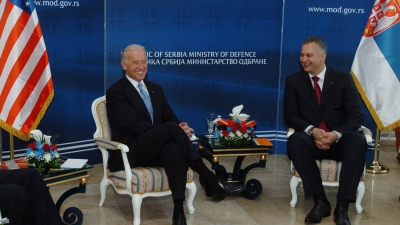 Susret ministra Šutanovca sa potpredsednikom SAD Džozefom Bajdenom