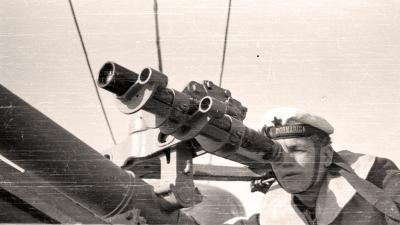 Vežba Ratne mornarice, 1949.