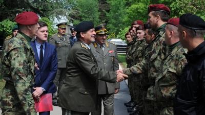 General Maksim završava posetu našoj zemlji