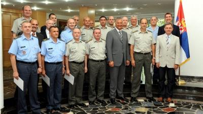 Министар Шутановац уручио указе о унапређењу и постављењу