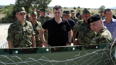 Minister Đorđević visited Joint Military and Police Forces