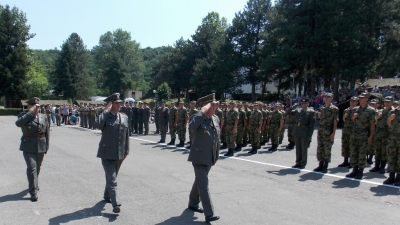 Taking oath ceremony in Leskovac