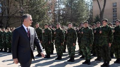 Zakletva vojnika generacije MART 2010 u 5.Centru za obuku u Zaječaru