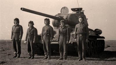 Tank Crews Training, 1950