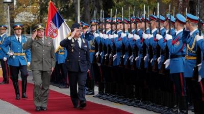 Poseta delegacije Mađarske armije Beogradu