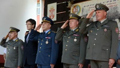 Taking oath ceremony in Valjevo