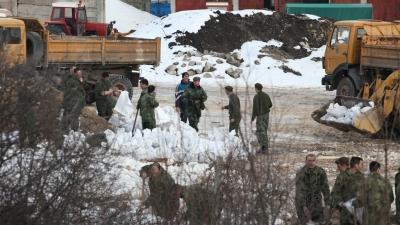 Vojnici u Zaječaru angažovani u odbrani od poplava