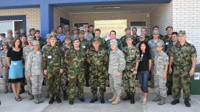 Начелник Генералштаба посетио учеснике бежбе ''MEDCEUR 2009''