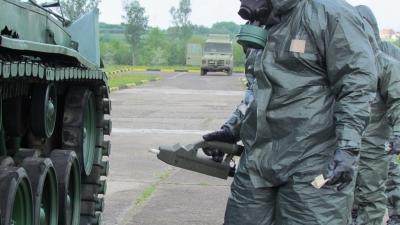 Обука мађарских војника у Центру АБХО