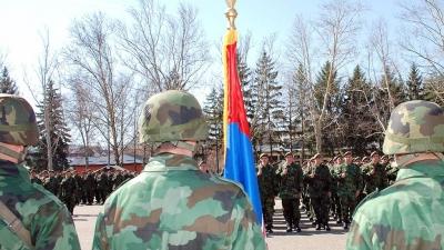 Zakletva vojnika generacije MART 2010 u 4.Centru za obuku u Valjevu