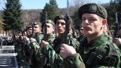 Zakletva vojnika generacije MART 2010 u 7.Centru za obuku u Leskovcu