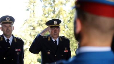 Načelnik Generalštaba položio venac na Spomenik neznanom junaku na Avali