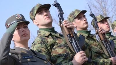 Полагање војничке заклетве у Ваљеву