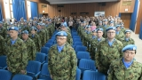 Svečani ispraćaj kontingenta Vojske Srbije u misiju UN u Centralnoafričkoj Republici