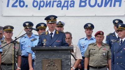 Начелник штаба Команде РВиПВО, бригадни генерал Александар Бјелић