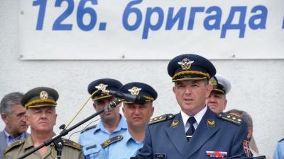 Командант 126. бригаде ВОЈИН, пуковник Александар Дучић